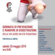 Giornata di prevenzione e manovre di disostruzione delle vie aeree in età pediatrica