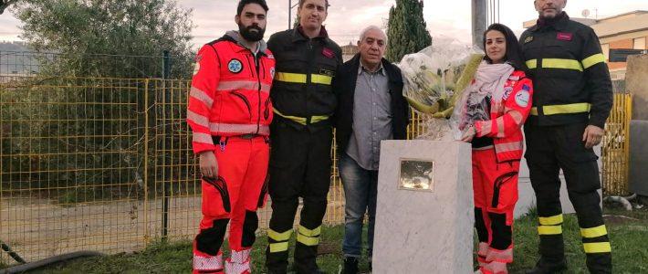 Alla sede dei Vigili del Fuoco di Calenzano per ricordare le vittime di Alessandria