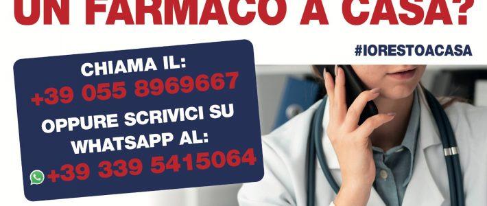 """Riparte il servizio """"FARMACI A CASA"""""""